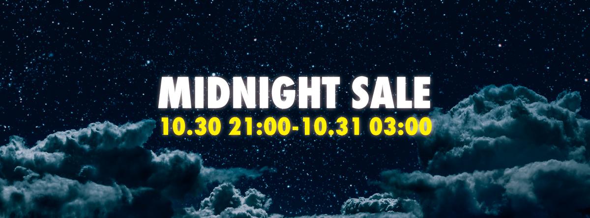 6時間限定☆ミッドナイトセール